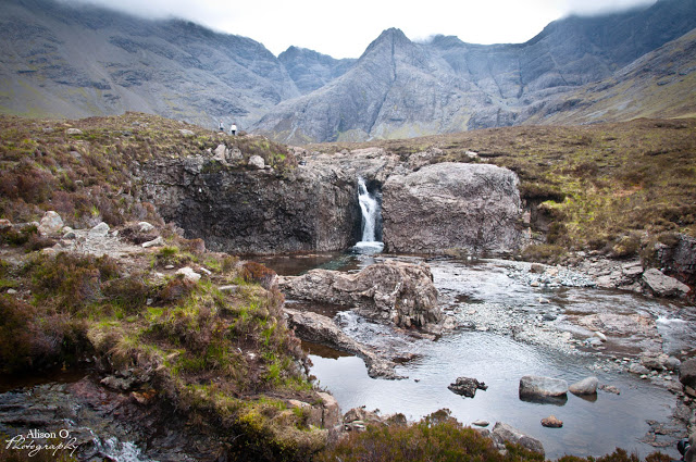 Fairy pools Isle of Skye Scotland Écosse