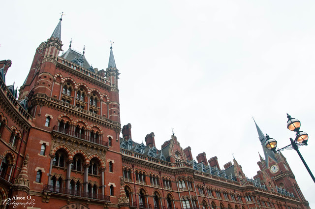 citytrip Londres London St Pancras
