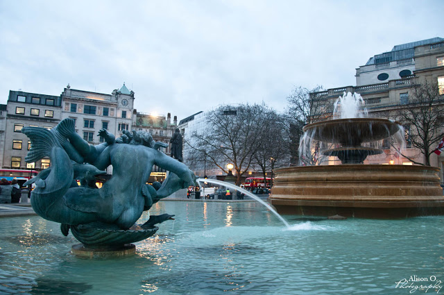 citytrip Londres London Tralfalgar Square