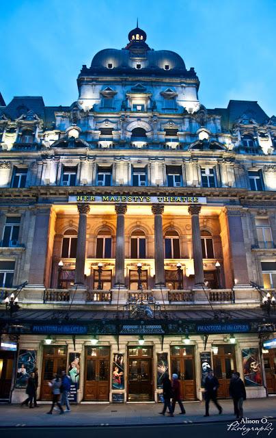 citytrip Londres London Majesty theatre