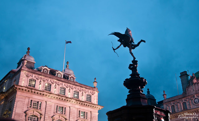 citytrip Londres London Picadilly Circus