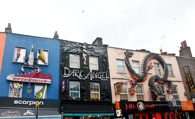 Citytrip Londres London weekend Camden Market