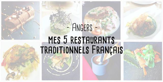 ma sélection restaurant traditionnels Angers français