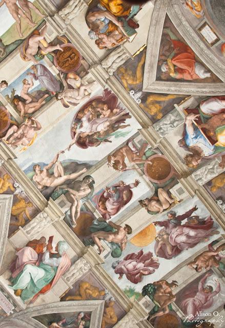 citytrip Rome vacances voyage musée Vatican Sixtine
