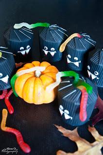 DIY boîte à bonbons Halloween