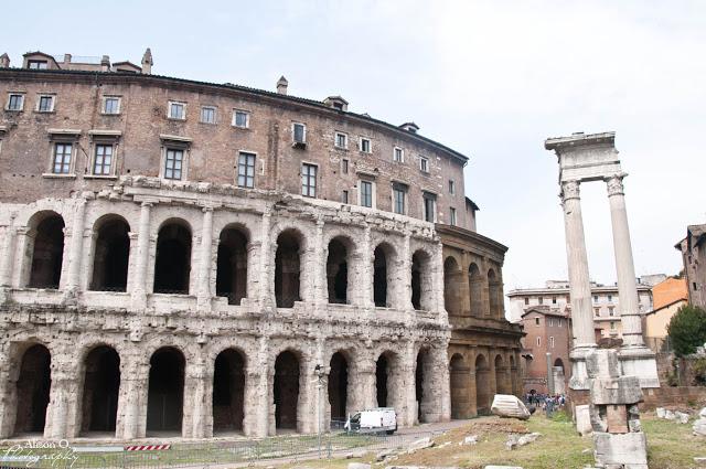 Citytrip Rome Italie Theatro Marcello