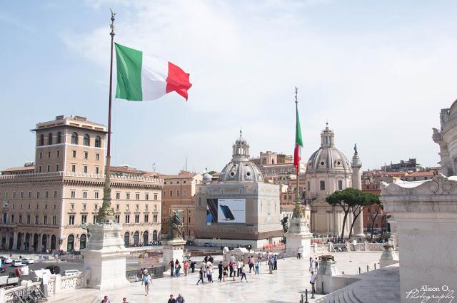 Citytrip Rome Italie Piazza Venezia