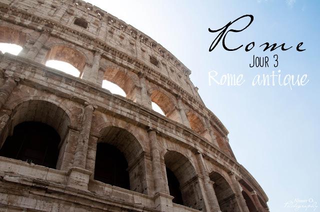 Citytrip Roma Italie Colisée
