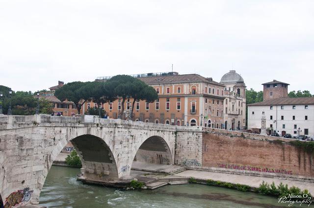 Tibre - citytrip Rome