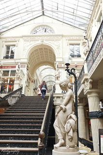 Nantes au printemps - passage pommeraye