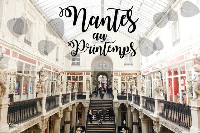 Nantes au printemps