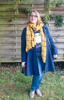 French Curves - Look cosy winter inspiration Harry Potter
