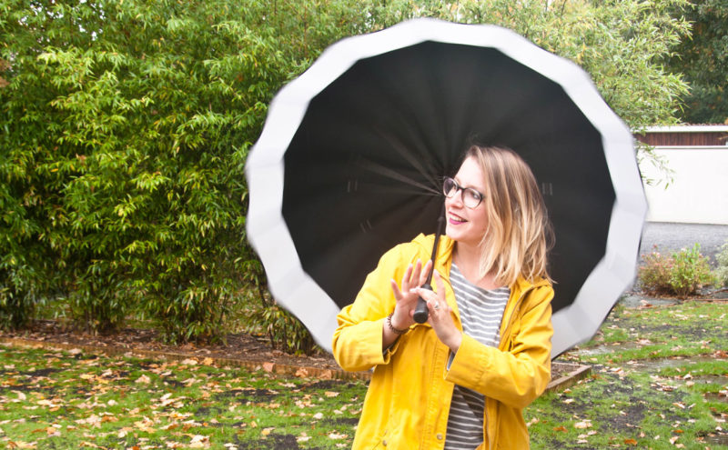 French curves - look vêtement de pluie
