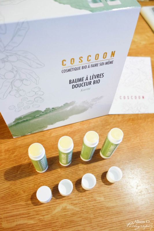 Kit Coscoon DIY beauté