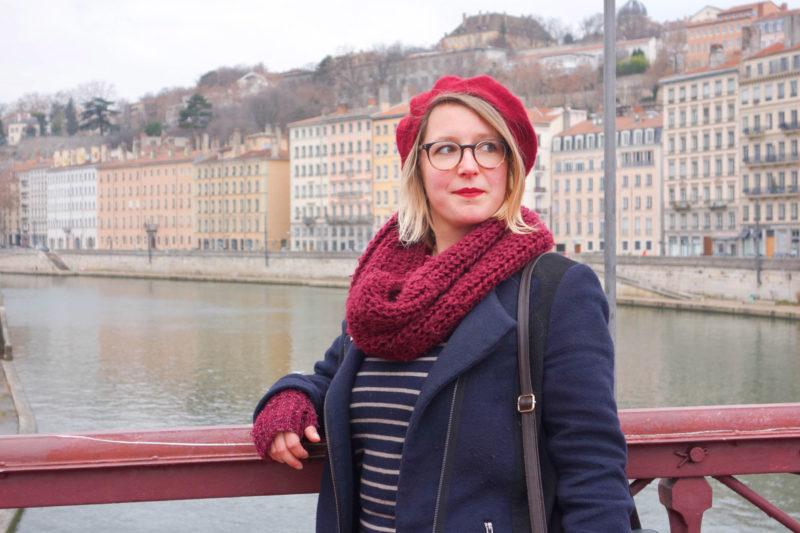 Une ville, Un look à Lyon en hiver