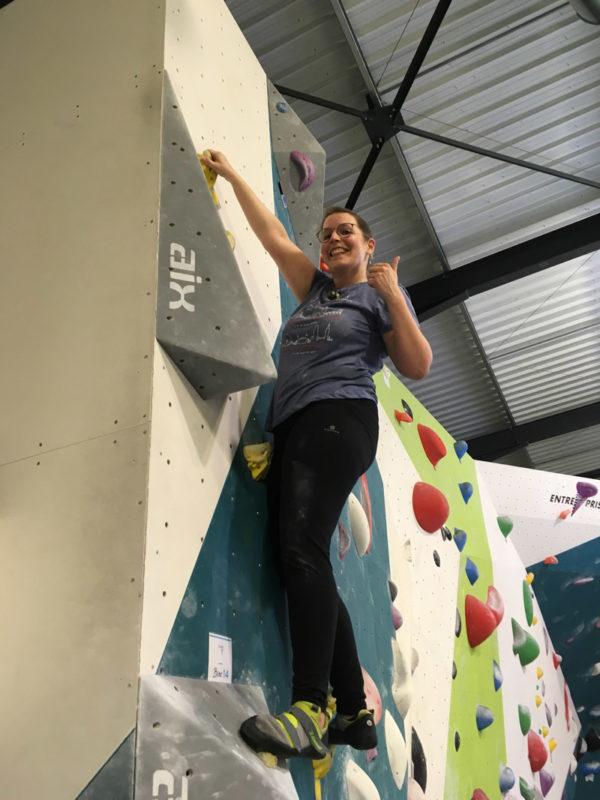 Escalade chez Climb Up Angers