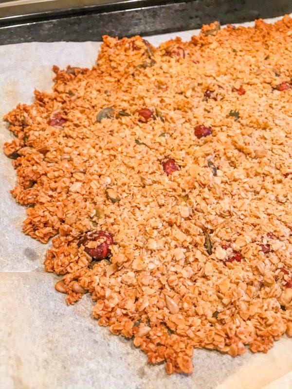 Ma recette de granola maison